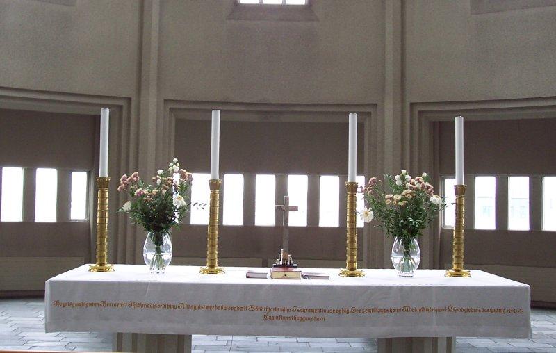 Altar Kirche Reykjavik