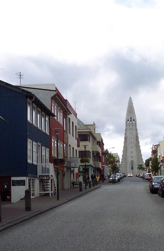 Kirche Reykjavik