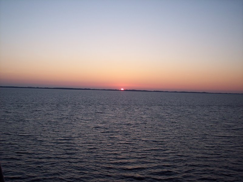 Sonnenuntergang in Schleswig